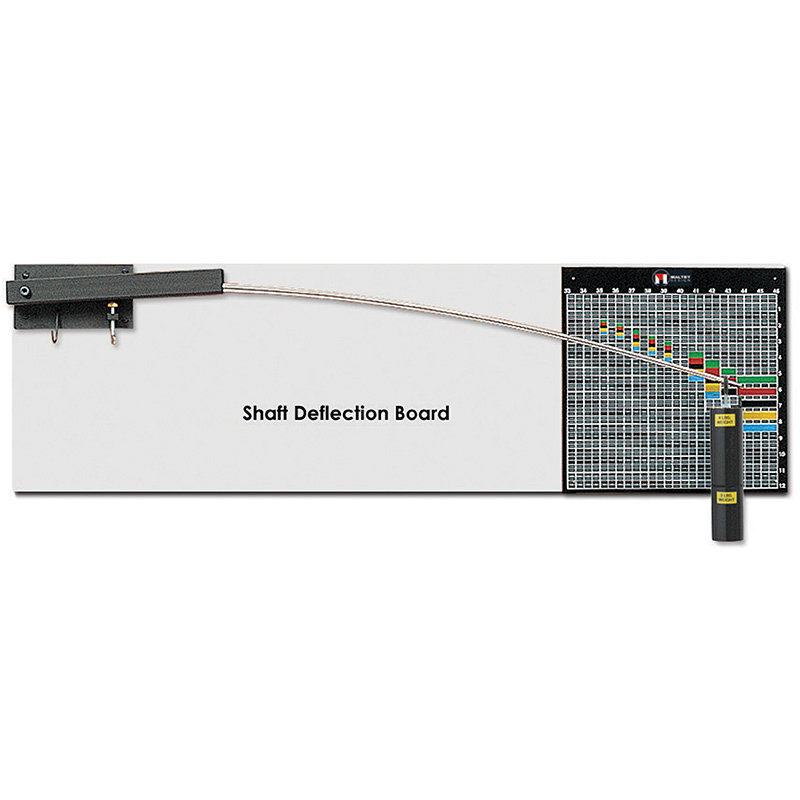 Maltby Design Golf Shaft Deflection Board - GSDB