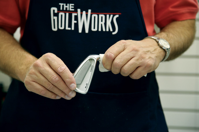How To Re-Shaft Steel Clubs Step 5