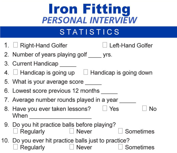 Iron Fitting Interview Preview