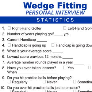 Wedge Fitting Interview