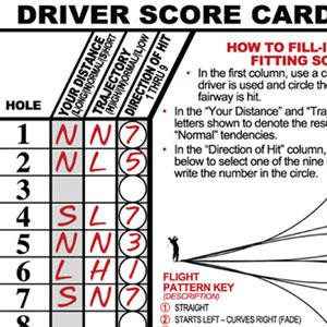 Driver Score Card